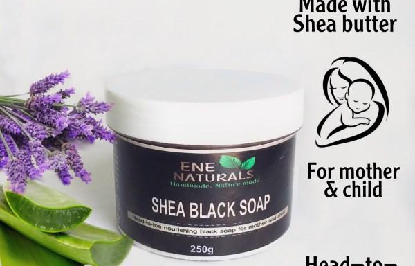 SHEA BLACK SOAP