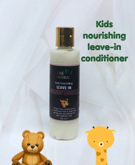 kids organic leave in conditioner