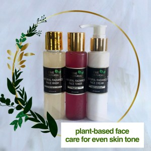 plant based face products for even skin tone