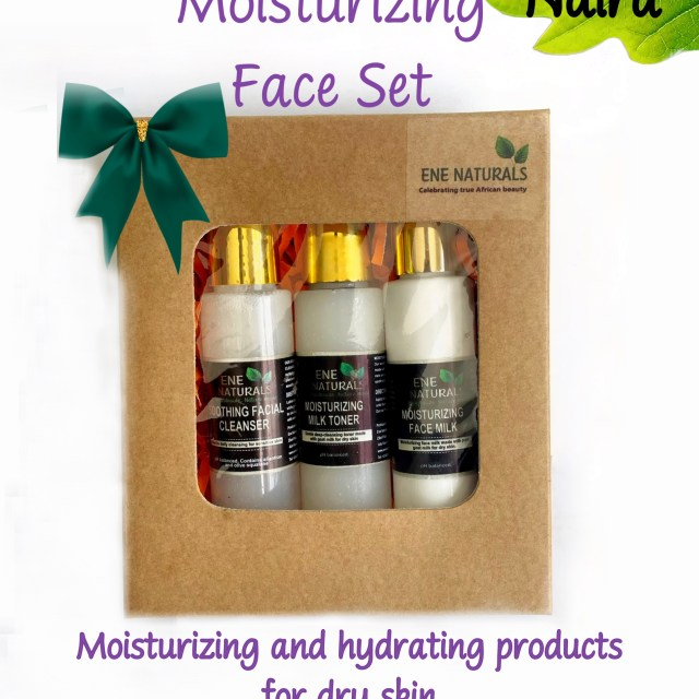 Moisturizing products for the face