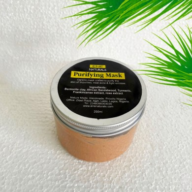 Purifying clay mask