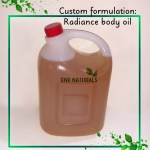 radiance body oil contract manufacturing