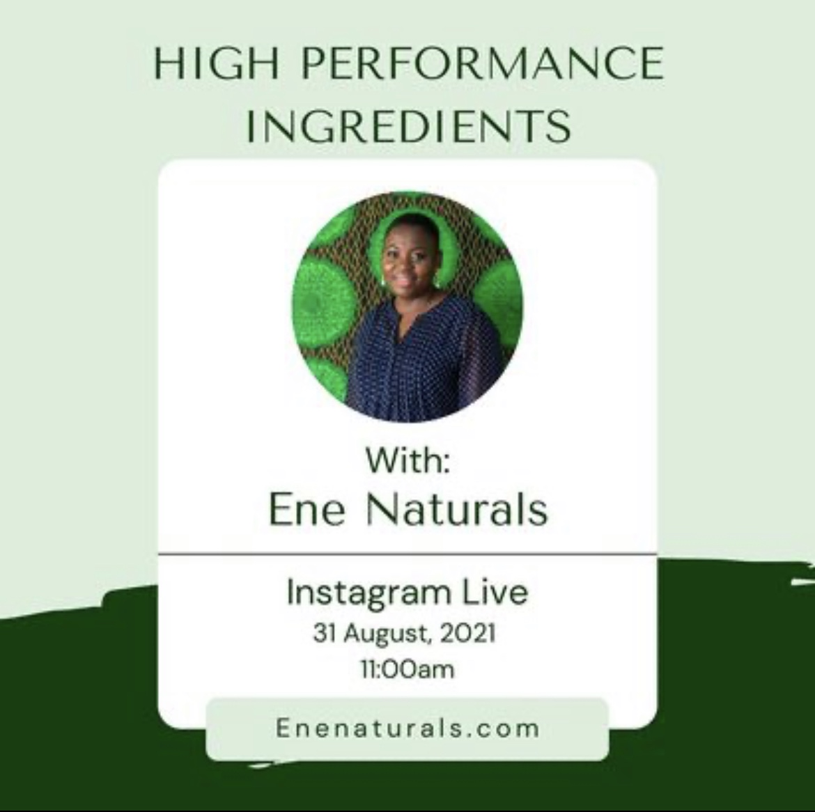 Formulating with high performance Ingredients