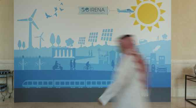 Jahresversammlung International Renewable Energy Agency IRENA