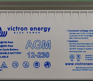 12V/100Ah AGM Super Cycle Batt. (M6)