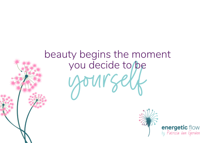 Quote Beauty begins the moment you decide to be yourself