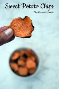 Simple Sweet Potato Chips