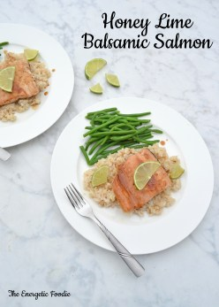 Honey Lime Balsamic Salmon