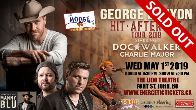 George Canyon – Hit after Hit Tour – with Doc Walker and Charlie Major