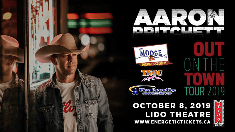 OUT ON THE TOWN TOUR 2019  STARRING  AARON PRITCHETT
