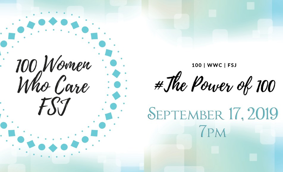 100 Women Who Care – Sept 2019