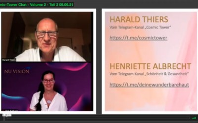 Cosmic Tower – Harald Thiers – Chat Volume 2 – Teil 2 vom 09.09.2021
