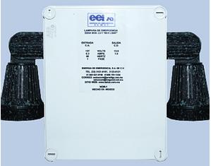 Lámpara de emergencia LU-1 IP65