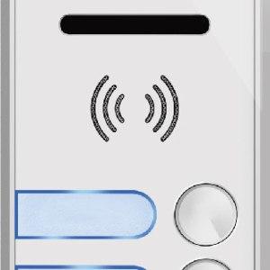 sonnette d'appartement avec 4 bouton