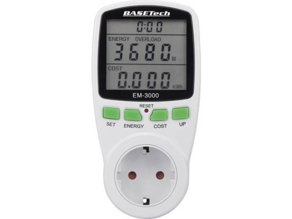 Basetech EM-3000 Energiekostenmeter Kostenprognose