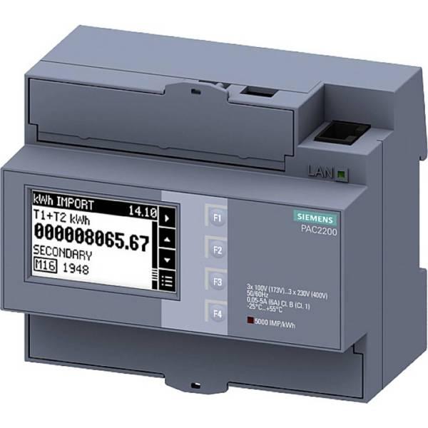 Siemens 7KM2200-2EA00-1JB1 Energiekostenmeter