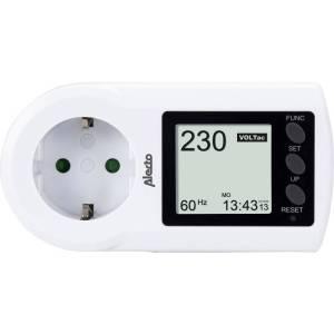 Alecto EM-17 Energiekostenmeter Instelbaar stroomtarief, Alarmfunctie, Geïntegreerde batterij