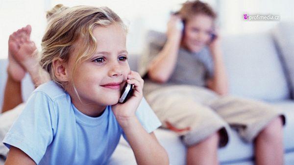 Elektronika a děti mladší 12 let – varováni