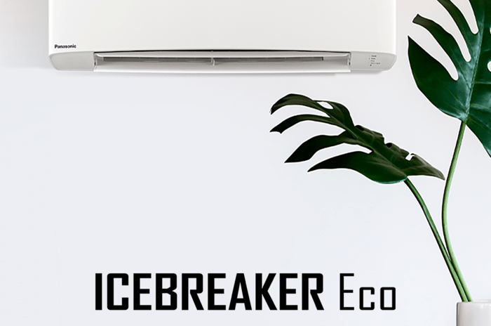 Panasonic Icebreaker Eco varmepumpe