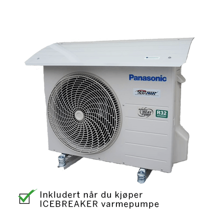 Panasonic Icebreaker tilbehør varmepumpetak