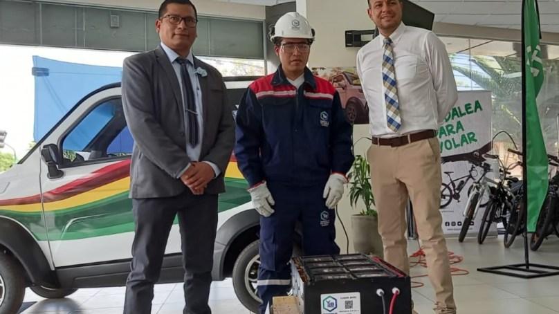 Quantum Motors recibe primera batería de litio producida por Yacimientos de Litio Bolivianos