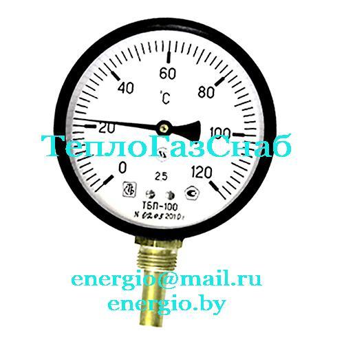 Термометр биметаллический радиальный ТБП100Р
