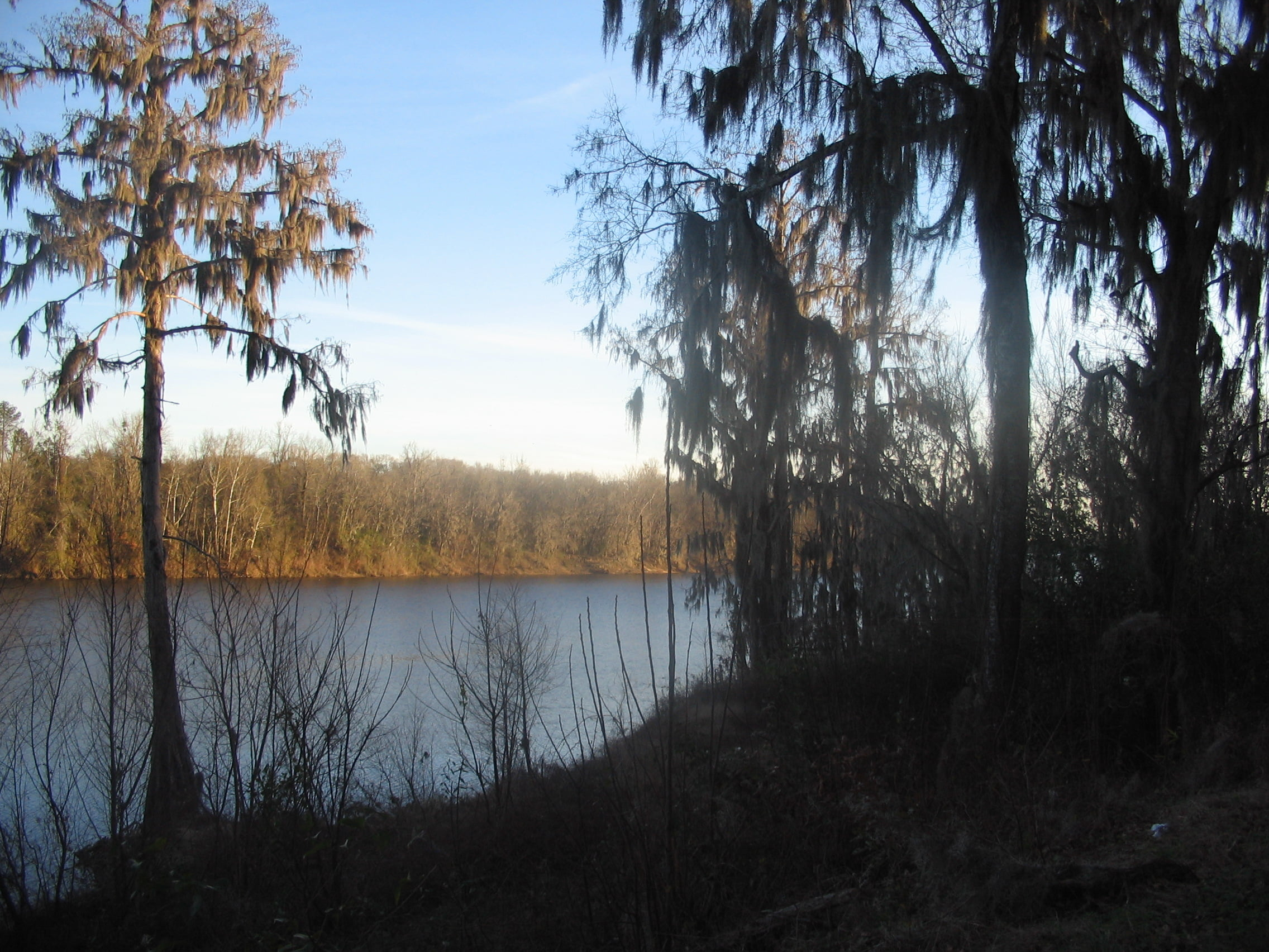 River in Cahaba:Two shall meet and become one