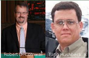 Elgin Hushbeck, Jr. and Bob Cornwall