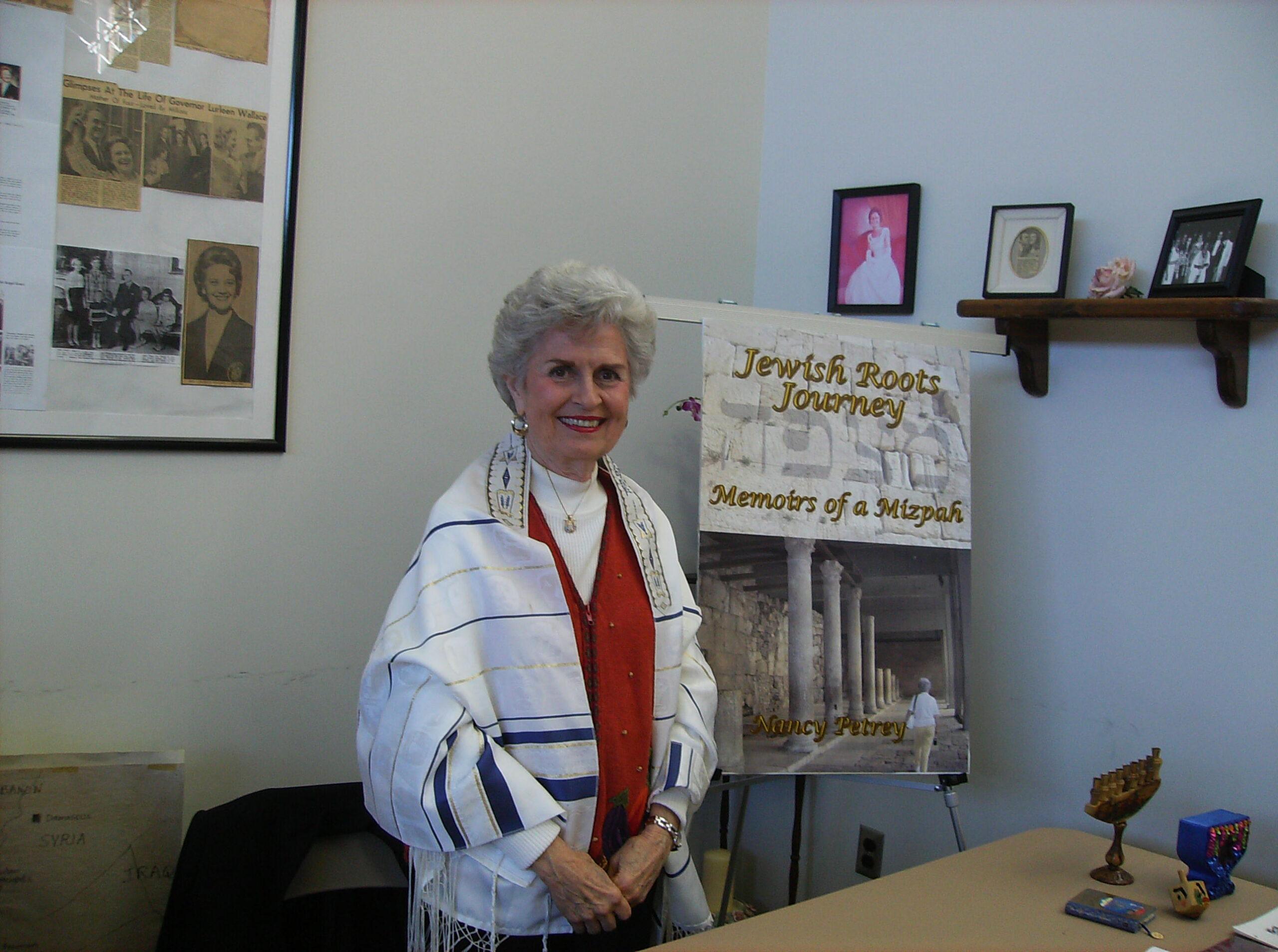 Nancy Petrey, author of Jewish Roots Journey