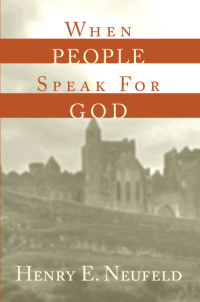 When People Speak for God - Front Cover