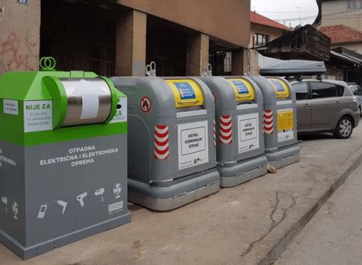 U Sarajevu postavljeno 25 savremenih kontejnera za električne uređaje