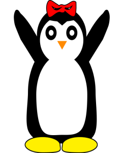 penguin-hands-up