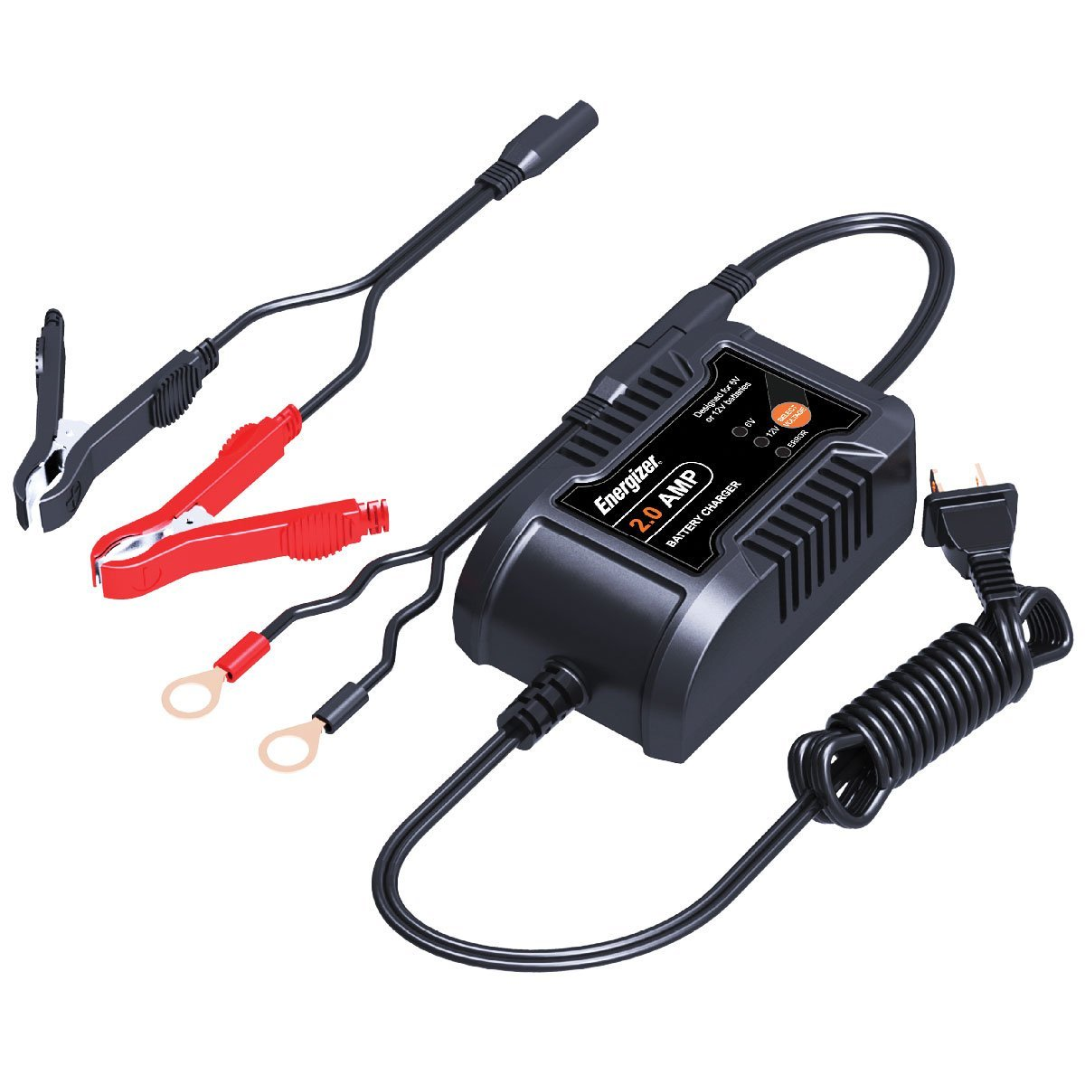 Car Battery Charger Fully Protected Against Overcharge Shortcircuit