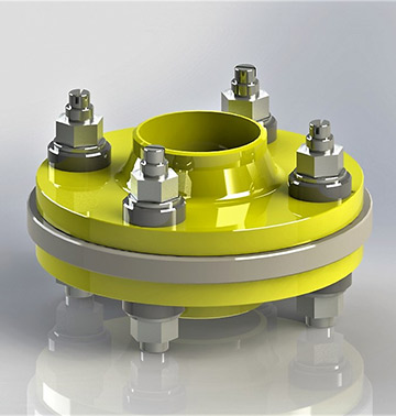 Insulating flange TYPE: 1110