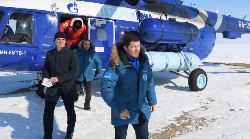 Руководство ООО «Газпром геологоразведка» и Ямало-Ненецкого автономного округа посетило производственные объекты компании на полуострове Ямал