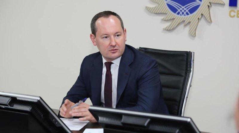 Павел Ливинский провел встречу с работниками астраханского филиала «Россети Юг»