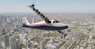 NASA представило электрический самолет Maxwell X-57