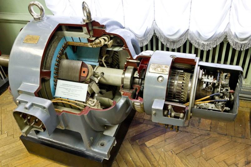 Макет электродвигателя