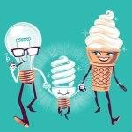 Тайна рождения энергосберегающей лампочки