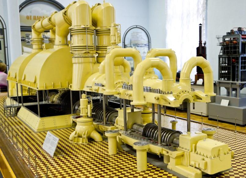 Макет паровой турбины