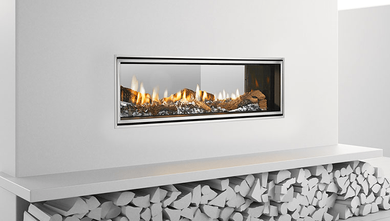 Mezzo SeeThru  See Through Fireplace  The Energy House