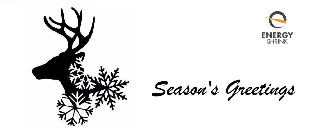 Season's greetings from Energy Shrink