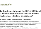 On the Implementation of the IEC 61850 Standard: Will Different Manufacturer Devices Behave Similarly under Identical Conditions?
