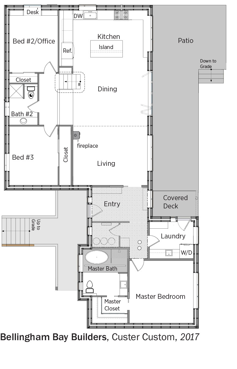hight resolution of floorplans for custer custom by bellingham bay builders