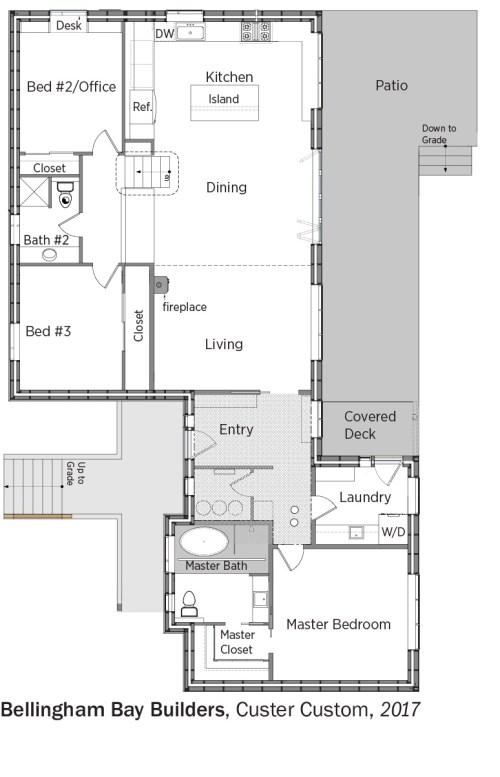 small resolution of floorplans for custer custom by bellingham bay builders