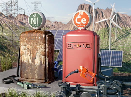 New route to carbon-neutral fuels from CO2
