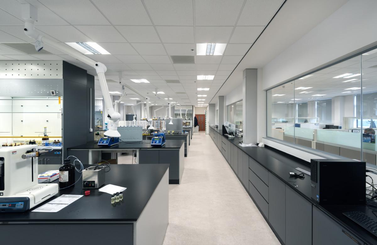 Regional Chemical Laboratory  Kirkby UK  Energy