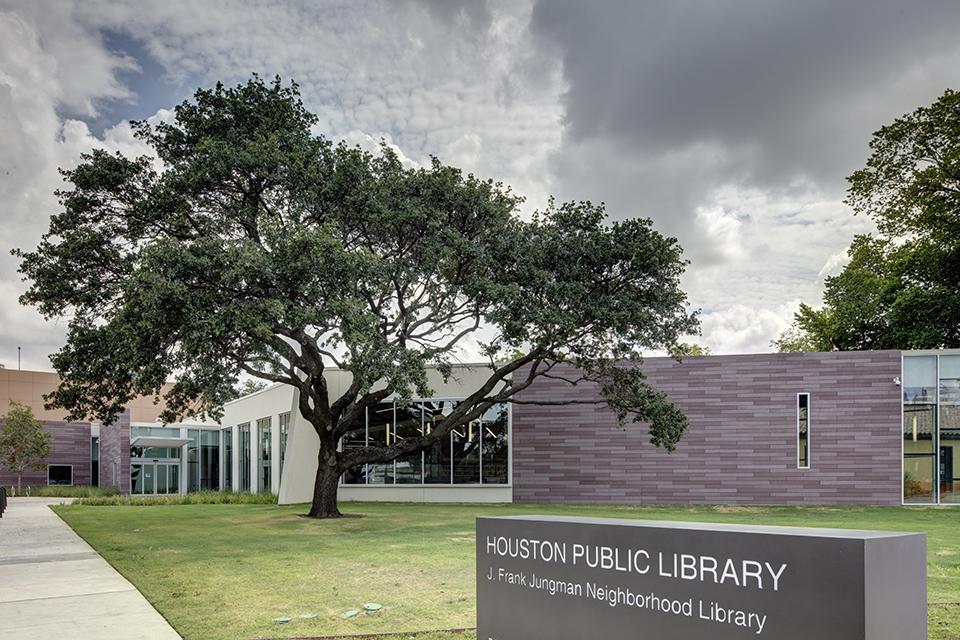 Jungman Neighborhood Library  Houston Texas  Energy
