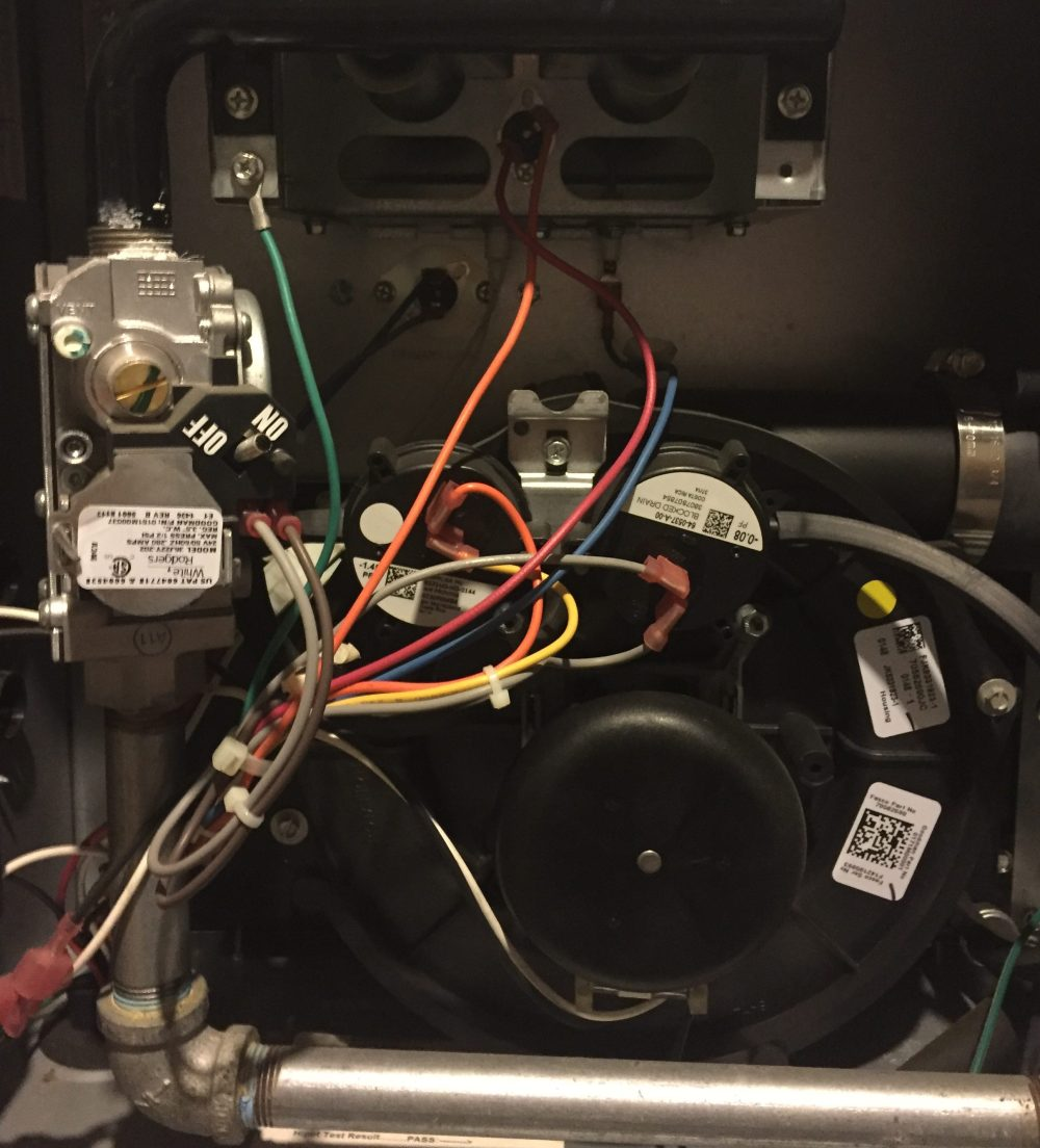 medium resolution of the inside of my furnace before my failed repair attempt source author