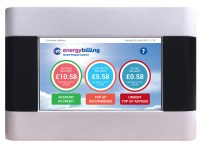 Energy Billing's vThree meter front screen.